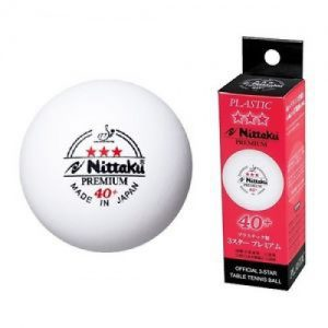 Пластиковые мячи Nittaku 40+ 3*** ITTF Premium