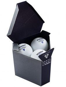 Мячи Xiom Pro Select 3* 40+ ITTF
