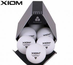 Мячи Xiom Seamless 3*** 40+ ITTF 6 шт