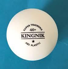 Пластиковые мячи Kingnik 1* ABS Plastic 40+