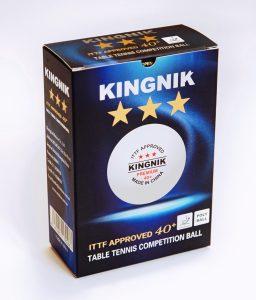 Мячи Kingnik Premium 3*** 40+ ITTF ABS Plastic