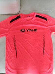 Футболка Yinhe Maxtense 6034-15 Оранжевая(б/у)