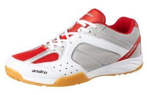 Кроссовки Andro Alpha Step 2 ,красные,Акция