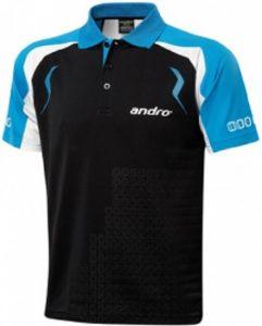 Тенниска Andro Mingo (Синяя с черным,размер M)