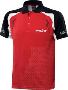 Тенниска Andro Mingo (Красная с черным,размер L)