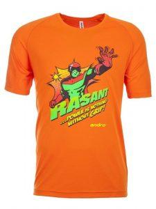Футболка Andro Rasant Orange (Размер S)