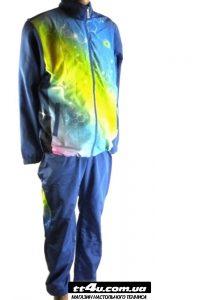 Спортивный костюм Yinhe 6006-17 Голубой/Салатовый