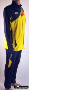 Спортивный костюм Yinhe 6007-18 синий/желтый