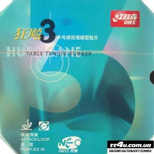 НакладкаDHS Hurrucane 3 Neo National 39 градусов